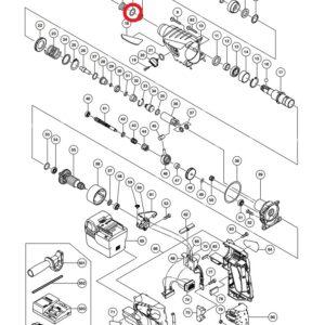 Podkładka do Akumulatorowego Młota Udarowo-obrotowego HITACHI DH36DL oraz innych [984-118]
