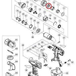 Spring Click do Wkrętarki Akumulatorwej HITACHI DS 18DVF3 [324-108]