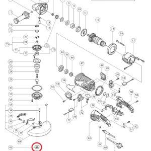 Podkładka do Szlifierki kątowej HITACHI G23SCY [937-907z]