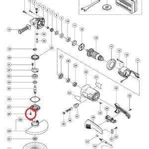 Śruba do Szlifierki tarczowej HITACHI G23SR [994-192]