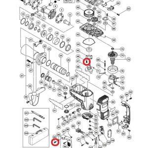 Śruba M5x16 do Młotu Wyburzeniowego HITACHI H 65SB2 [990-079]