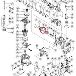 O-RING (A) (FPM810) do Młotu Wyburzeniowego HITACHI H60MR [985-454]